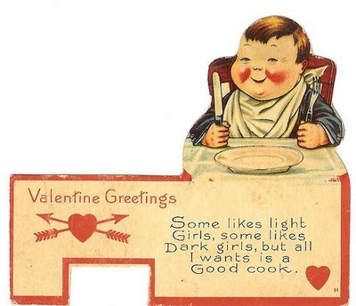 vintage valentine fat kid