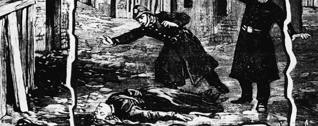 Police Discover A Victim Of Jack The Ripper